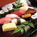 料理メニュー写真握り寿司各種