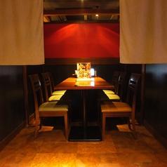 ゆったり座れるテーブル席は少し落ち着いた雰囲気を演出しています★誕生日や記念日にも最適です♪甘太郎 川崎ロペステーション店で素敵な時間をお過ごしください♪川崎で居酒屋お探しの際は是非、甘太郎でお楽しみください♪♪甘太郎ではお得な焼肉・しゃぶしゃぶ食べ飲み放題コースを多数ご用意しております!