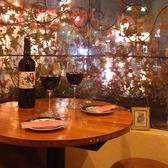 ビオワイン付デート用コースを多数ご用意しております!!こだわりあるコースで楽しいひとときをお過ごしください。