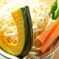 料理メニュー写真追加野菜セット