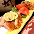 料理メニュー写真阿波尾鶏の塩こしょう焼き