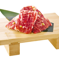 料理メニュー写真厚切り大とろカルビ(秘伝の塩ダレ・スタミナ)