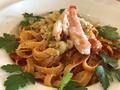 料理メニュー写真白葱とズワイガニのトマトクリーム