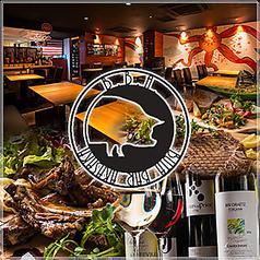 骨付き肉料理とアメリカワイン BBA カラフルの写真