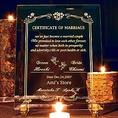 ~追加オプション~  ガラスの誓約書 結婚式でも使え2次会のお披露目にも人気です。