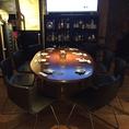 テーブル8名様席。大小宴会承ります。お気軽にお電話ください♪