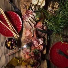 カルネアラグリーリア carne alla grigliaのコース写真
