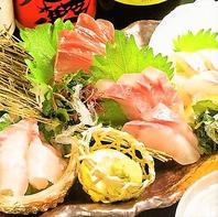 旬の鮮魚を味わう