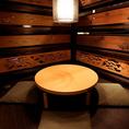 落ち着きのある雰囲気の店内はまさに京空間♪全室個室の20通り!2名様からご用意いたします♪