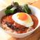 料理メニュー写真プレミアムロコモコ グレービーソース