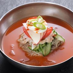 料理メニュー写真激辛冷麺