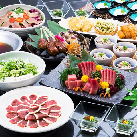 旬の味覚と鮮魚盛り合わせに飲み放題が付いたご宴会にお奨めのコースを3600円~多数ご用意。個室も2名様から大人数まで各種にご対応。接待、会食、ビジネスコースから大人の記念日、同窓会・送別会、歓迎会に幅広くご利用可能です。
