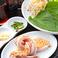 【ディップソース付き】特製生姜塩タレ 厚切りサムギョプサルセット