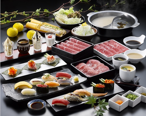 寿司・しゃぶしゃぶ食べ放題 ゆず庵 米沢店