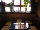 総席数48席。実は様々なテーブルがあるんです。