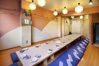 各個室には、換気扇完備