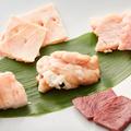 料理メニュー写真ホルモン5種盛