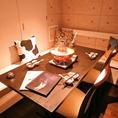 ゆったりとリラックスできる空間を提供いたします。恵比寿の喧騒を忘れさせるようなモダンなラグジュアリー空間。団体様の貸切宴会も承っております。個室6~8名完備♪