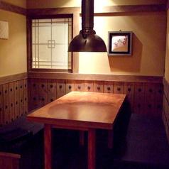 個室はつなげて大人数仕様にもなります