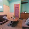 禁煙座敷の女子会・子連れに人気なカラオケ完備の完全個室♪個室御利用のお客様には無料ドリンクバーがついてきます!