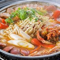 韓国鍋料理多数ご用意♪