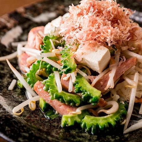 ご宴会ではモダンな創作沖縄料理をご堪能♪サプライズプレートも大好評★
