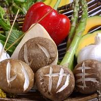 地元【飯山】から直送の新鮮な食材を使用しております!