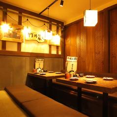 明るく誠意あるサービスが心地よい空間。広々とした堀ごたつ席もご用意しております