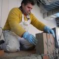 この薪窯は熟練の技術により造り上げられます!!