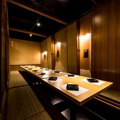 個室居酒屋 壽山 新宿店の雰囲気1