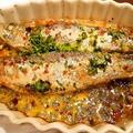 料理メニュー写真リスボンの風物詩 イワシのオーブン焼き