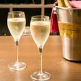 【女子会限定】4名様以上の予約でスパークリングワイン1本プレゼントしております♪美味しく楽しく大満足な女子会は彩できまり♪
