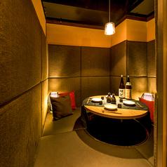 個室肉×チーズ Amore アモーレ 札幌すすきの店の雰囲気1