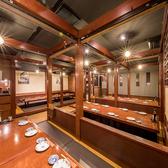 こちらは中規模宴会に最適な、20名様~46名様でご利用いただける掘りごたつ式の空間です。大規模な同窓会、同期会、社内の壮行会なども余裕をもって対応可能な広さ。新橋駅徒歩2分のアクセス抜群な当店で、長崎の郷土料理と焼酎、日本酒を味わうご宴会をどうぞ!