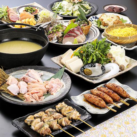 ★GoToポイントご利用可能★さらに人数×500円オフ!濃厚白湯スープの水炊き【水炊之宴〜春〜】