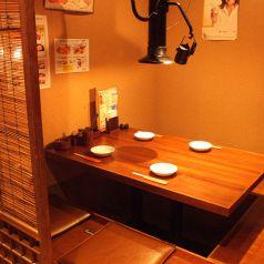 半個室風の掘りごたつ席もあり、宴会や2次会など様々なシーンでご利用いただけます。