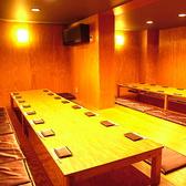 個室のお写真です。