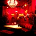 VIPルームは最大9名様でのご利用が可能◎お誕生日や女子会など、華やかな時間を演出します♪バルーン等で飾り付けも可能☆