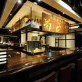 1~15名【358年の歴史をもつ菊正宗の酒を嗜むカウンター】 ◆直接設置された酒燗器があります。錫のチロリに入れたお酒をお好みの温度帯でお楽しみください。 ◆利き酒師との会話を楽しめ、日本酒が好きな方や興味のある方には是非おすすめ。 ◆蔵元直送の生原酒プレゼント等、カウンター席限定のお得な特典もご用意!