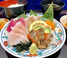 地魚三種刺身定食