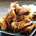 料理メニュー写真手作り鶏の唐揚げ