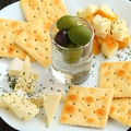料理メニュー写真5種のチーズ盛り合わせ