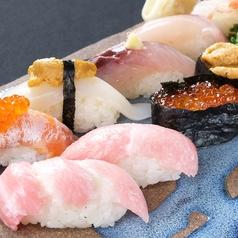 【コース料理】握り寿司