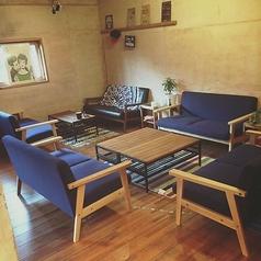 4名様ソファー席は3卓ご用意しております。