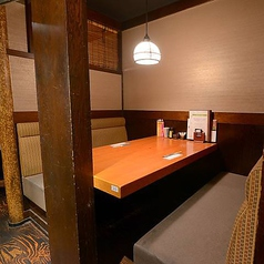 ホッとひと息つきたいときに最適なお席です。個室に区切られたやすらぎ空間で、当店自慢の炭火串焼きとオリジナルの地ビール、季節日本酒をお楽しみ下さい☆お席のみのご予約で使える限定クーポンもご用意しているので、是非ご利用下さい♪