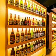 【豊富な日本酒や焼酎をご用意♪】