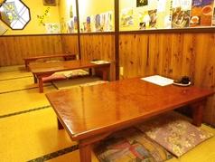 テーブルをつなげてご宴会にもご利用いただけます。