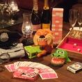 パーティーといえばグッズ!10th storyではホームパーティー感覚で楽しんでもらうため、様々なおもちゃを無料レンタルしてます!