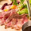 料理メニュー写真アンガス牛の肩ロースグリル