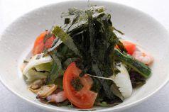 料理メニュー写真シーフードサラダ(フルサイズ/ハーフサイズ)